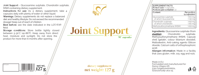 Címke - Joint Support